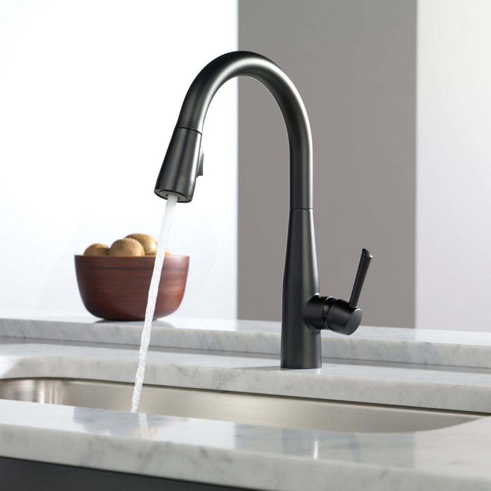 Bath4All - Delta 9113-dst Essa Pull-Down Kitchen Faucet with ...