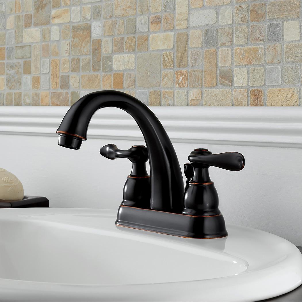 Bath4All - Delta B2596LF-PB Windemere Centerset Bathroom Faucet with ...