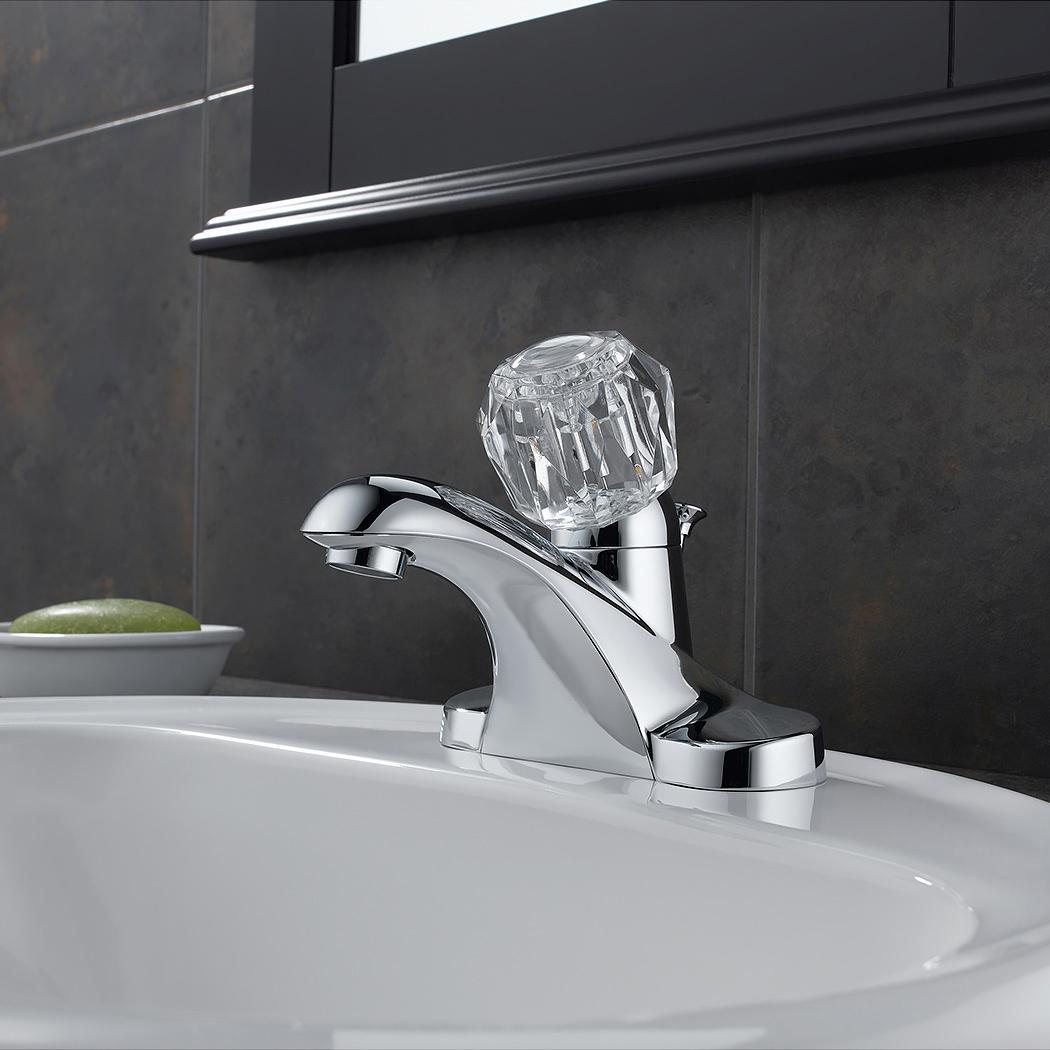 Bath4All - Delta B512LF Foundations Core-B Centerset Bathroom Faucet ...