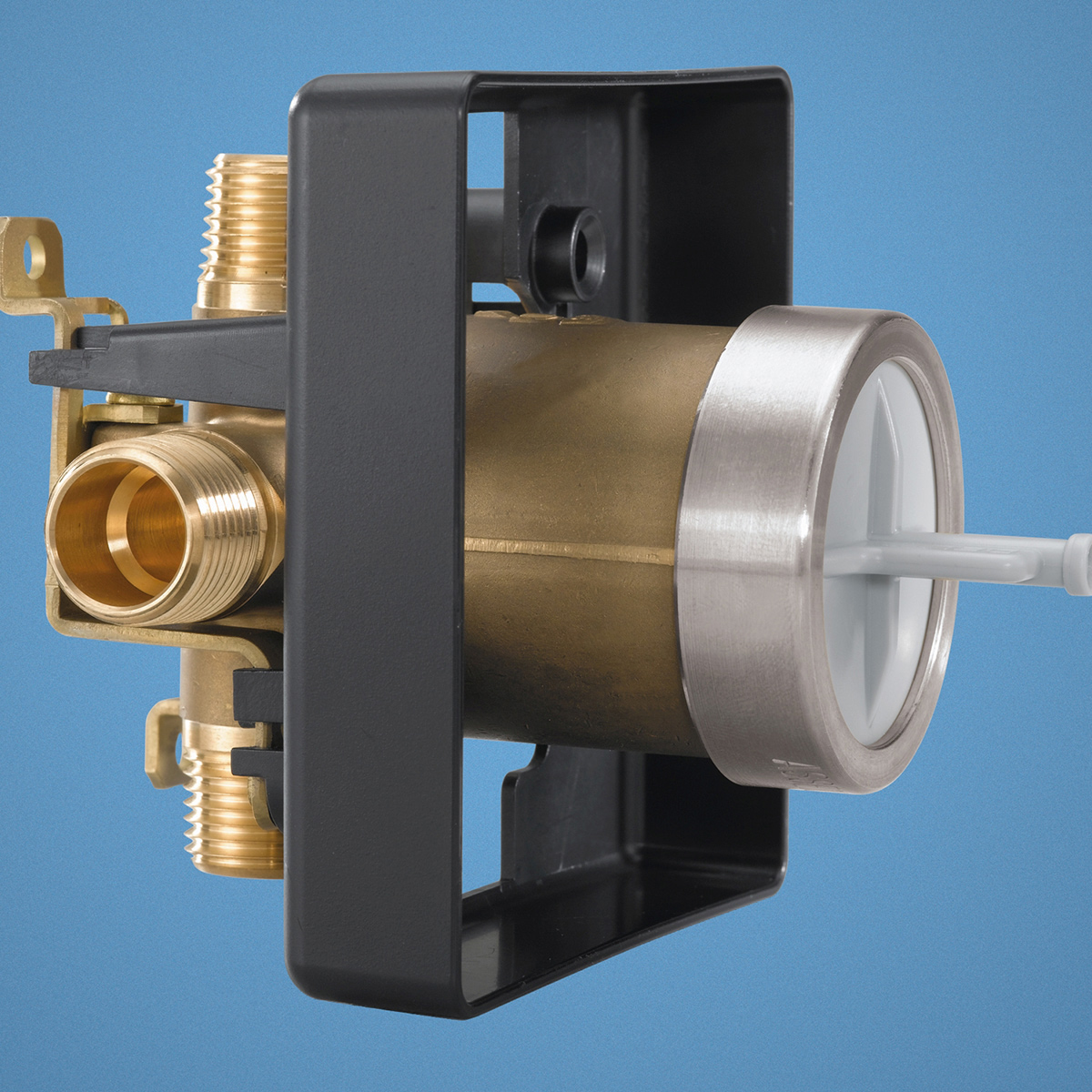 All Copper Universal Water Heater Mixing Valve U Type: Delta R10000-un Universal Mixing Rough-In Valve