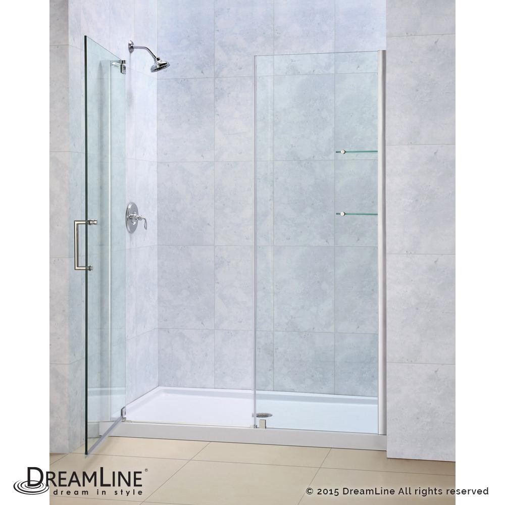 Bath4All - DreamLine DL-6204L-04CL Elegance Frameless Shower Door ...