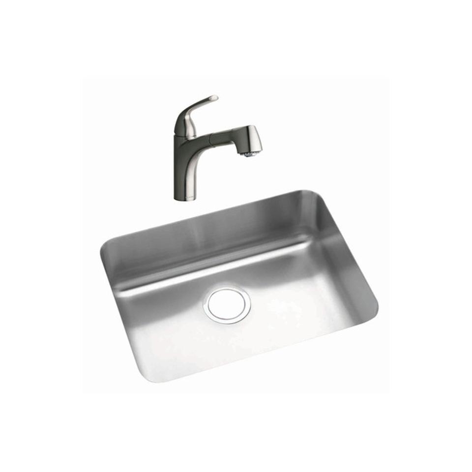 Bath4All - Elkay LKGTPKG1NK Stainless Steel Kitchen Sink Undermount ...