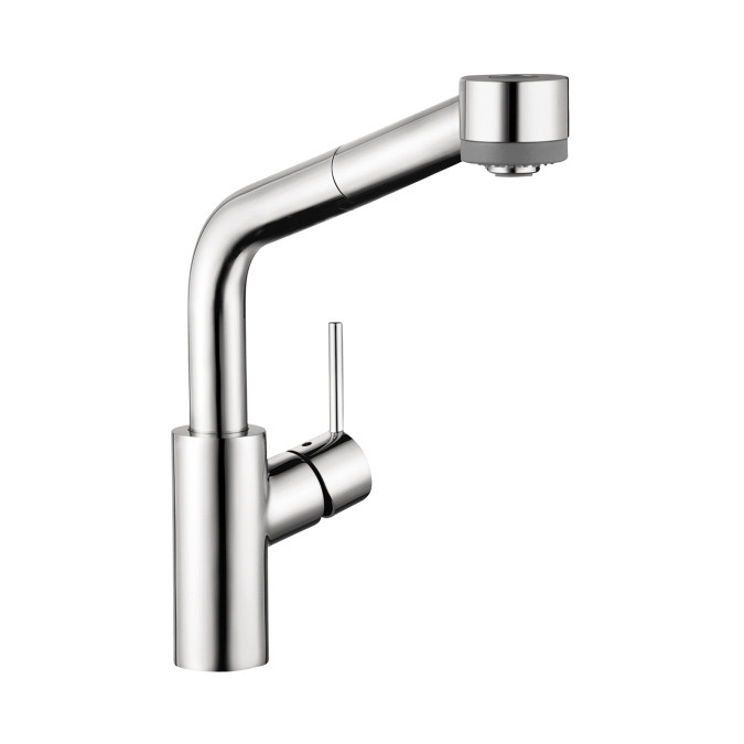 Bath4all Hansgrohe 04247000 Chrome Talis S Pull Down Kitchen