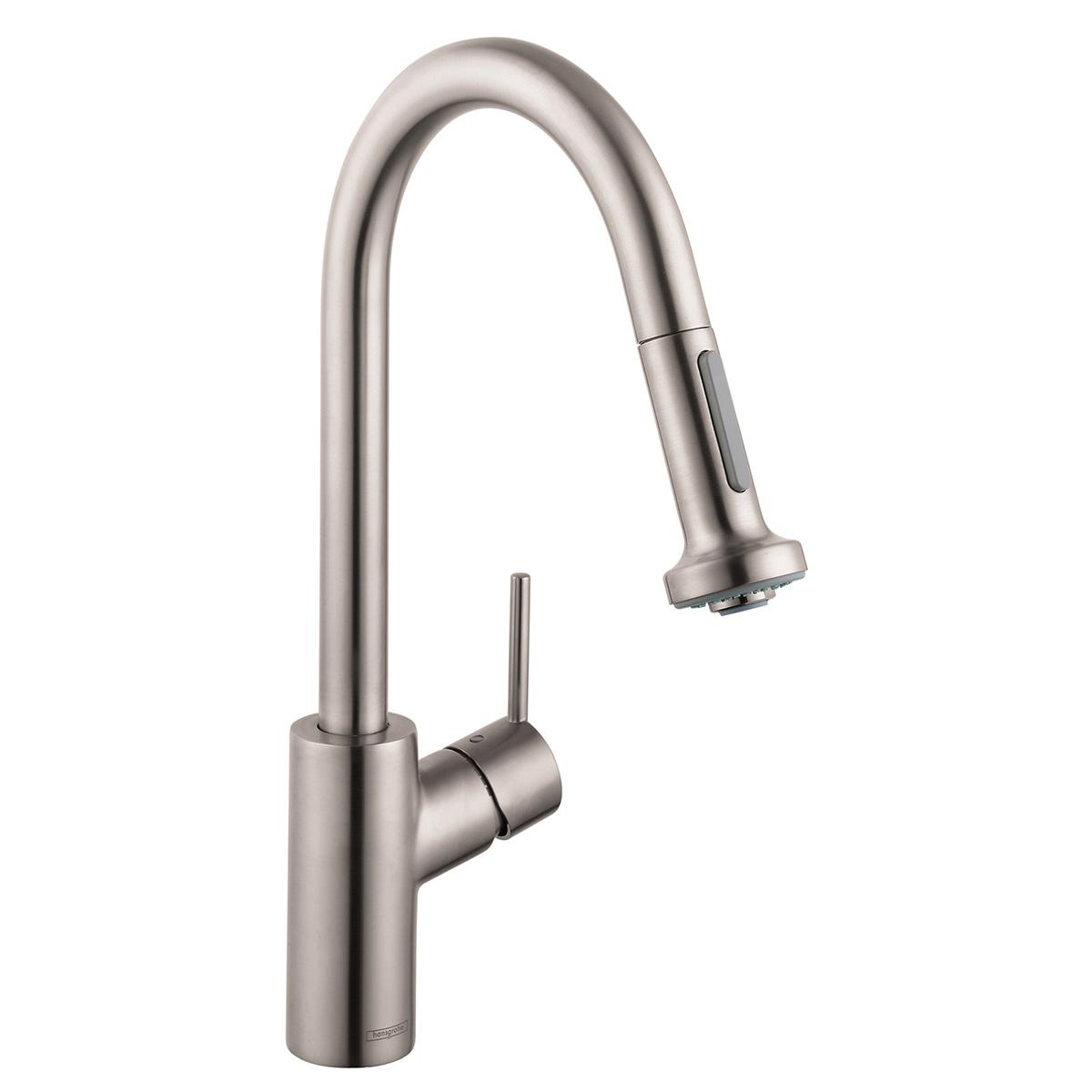 Bath4All - Hansgrohe 04310801 Steel Optik Talis S Pull-Down Kitchen ...