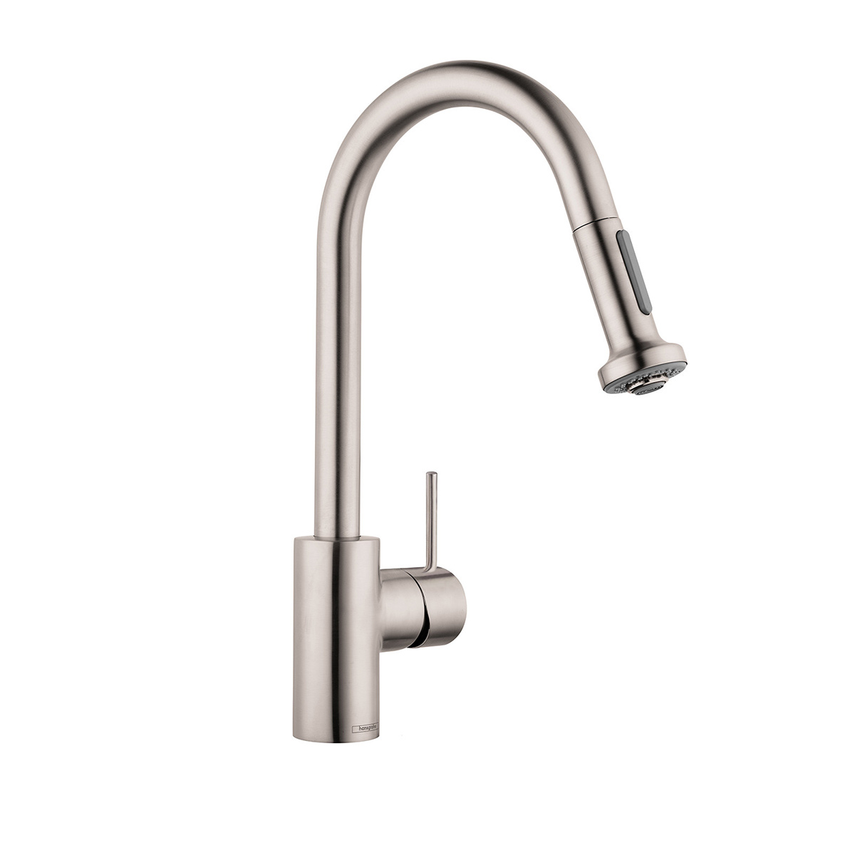 Bath4All - Hansgrohe 06801861 Steel Optik Talis S Variarc Pull-Down ...