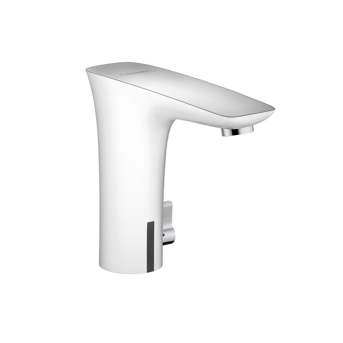 Bath4All - Hansgrohe 15170401 Chrome / White PuraVida Bathroom ...