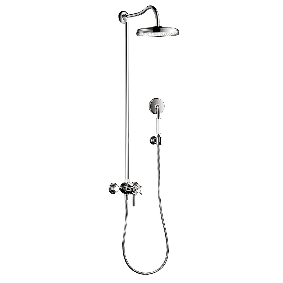 Bath4All - Hansgrohe 16570001 Chrome Axor Montreux Showerpipe Shower ...