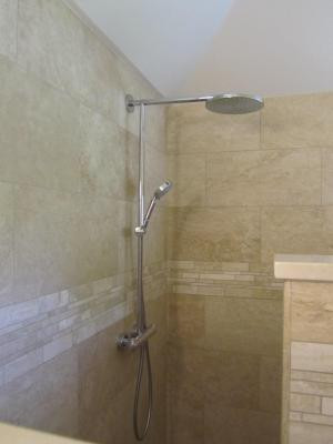 brushed nickel shower system. Hansgrohe 27160821 Brushed Nickel Raindance Showerpipe Shower System With 10\