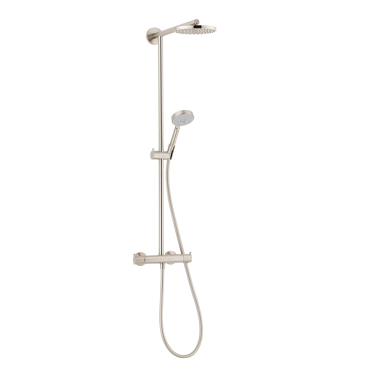 Bath4all Hansgrohe 27165821 Brushed Nickel Raindance Showerpipe
