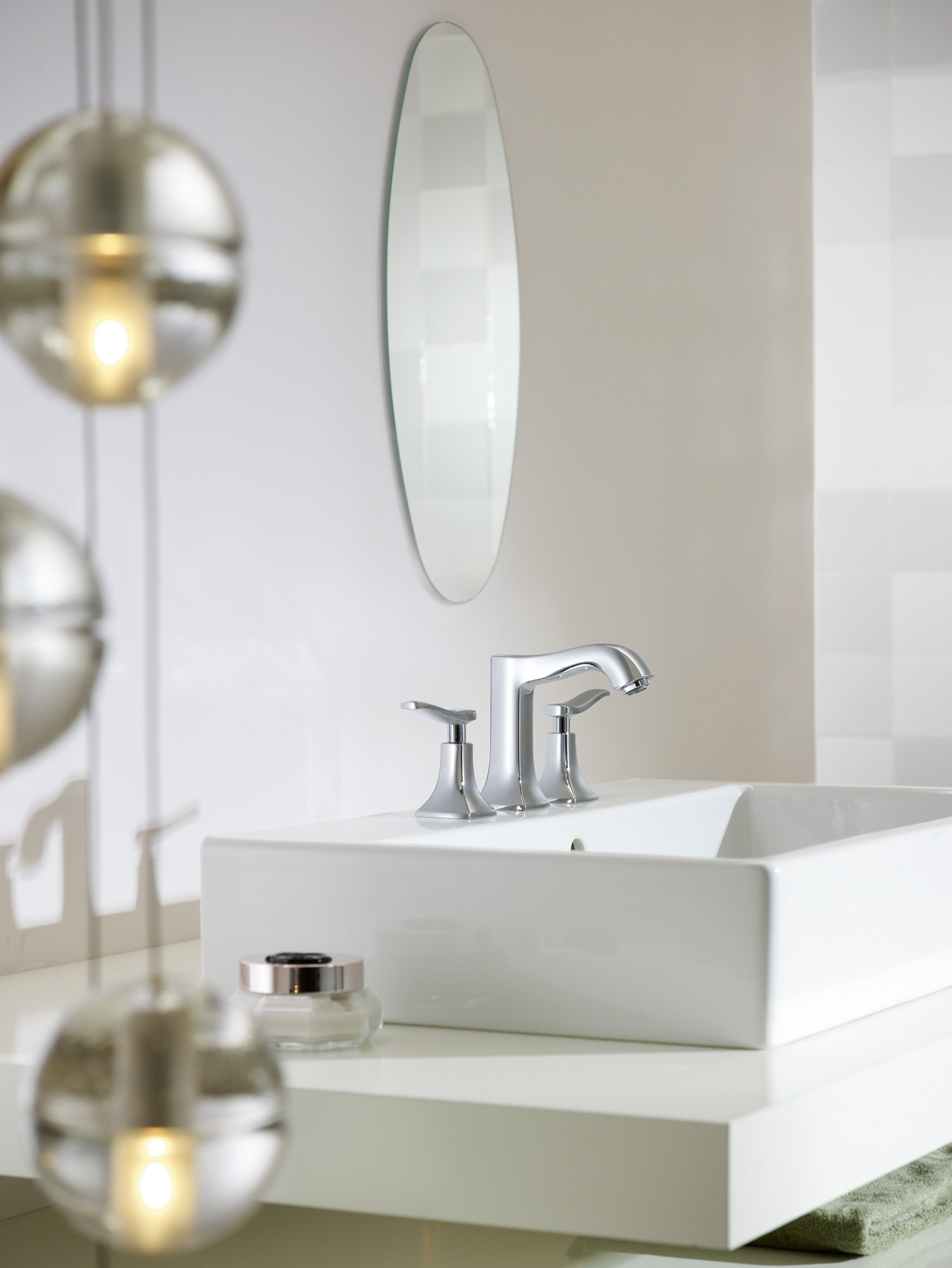 Bath4All - Hansgrohe 31073001 Chrome Metris C Bathroom Faucet ...