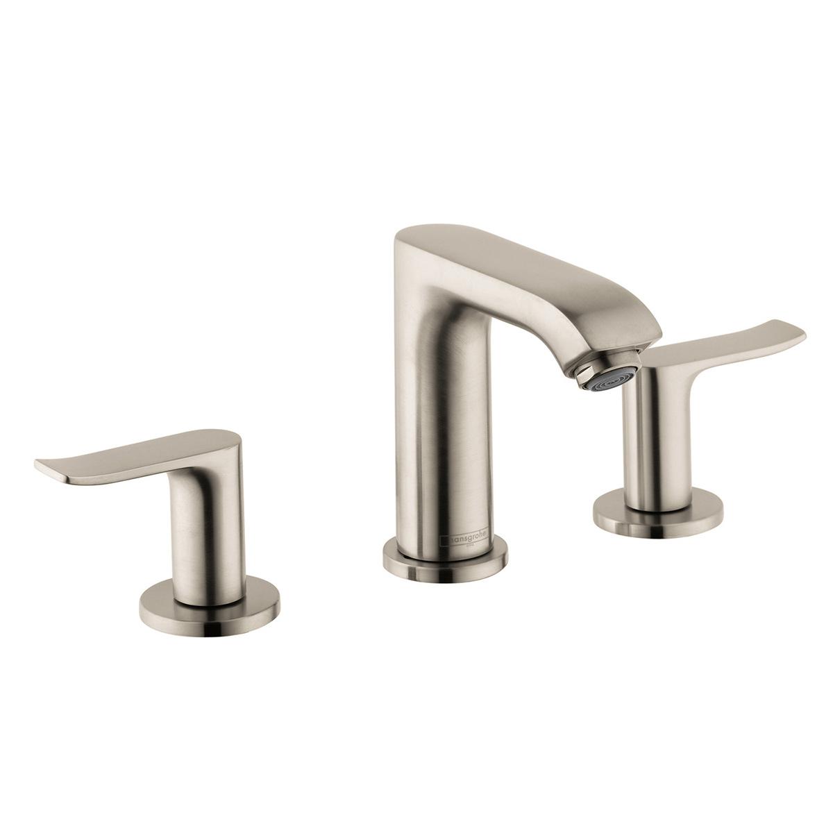 Bath4All - Hansgrohe 31083821 Brushed Nickel Metris Bathroom Faucet ...