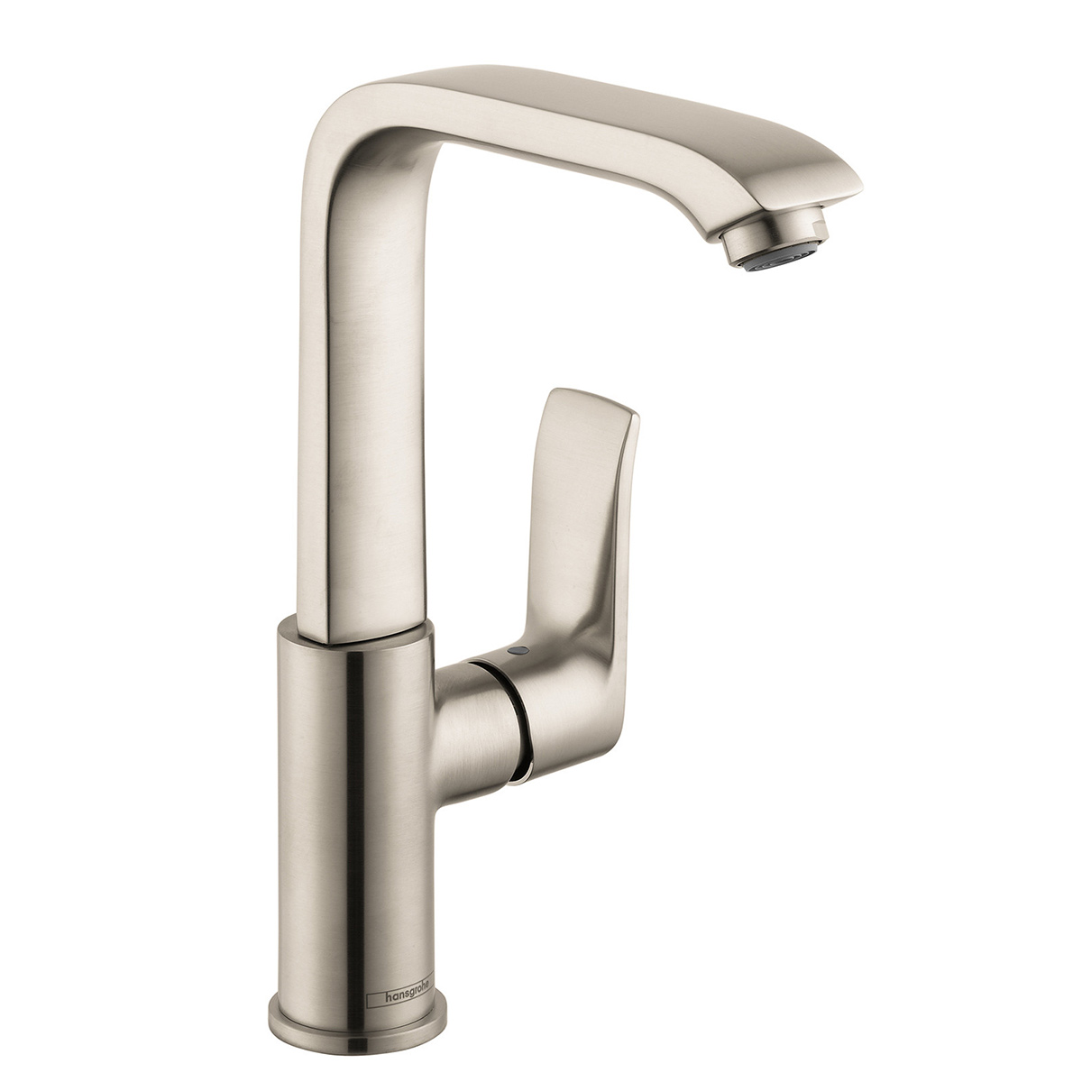 brushed dp touch hansgrohe metris s faucets com single bathroom nickel faucet amazon hole sink on