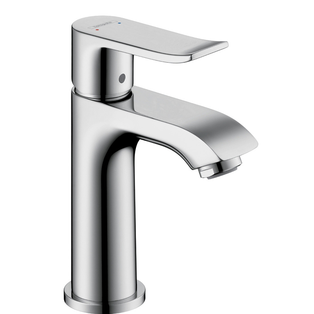 Bath4All - Hansgrohe 31088001 Chrome Metris Bathroom Faucet Single ...