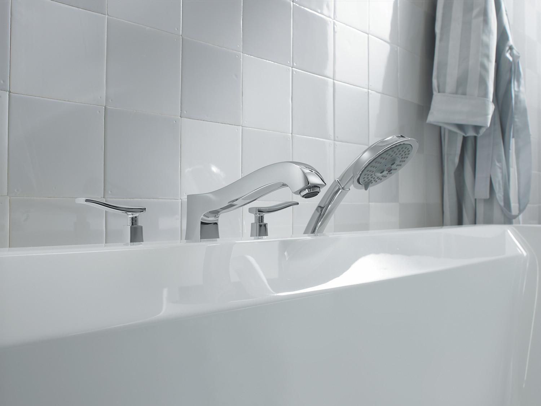 Bath4All - Hansgrohe 31314821 Brushed Nickel Metris C Roman Tub ...