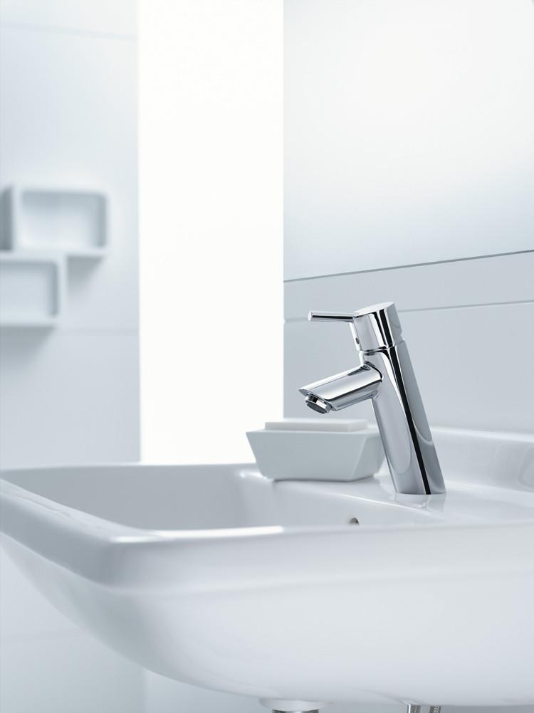Bath4All - Hansgrohe 32040001 Chrome Talis S Bathroom Faucet Single ...