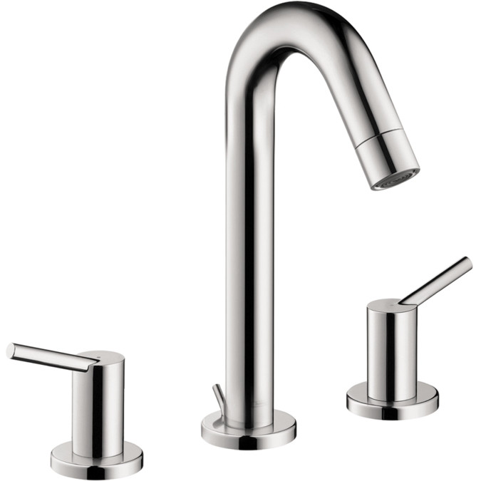 Hansgrohe 32310001 Chrome Talis Bathroom Faucet Widespread Faucet With  Lever Handles
