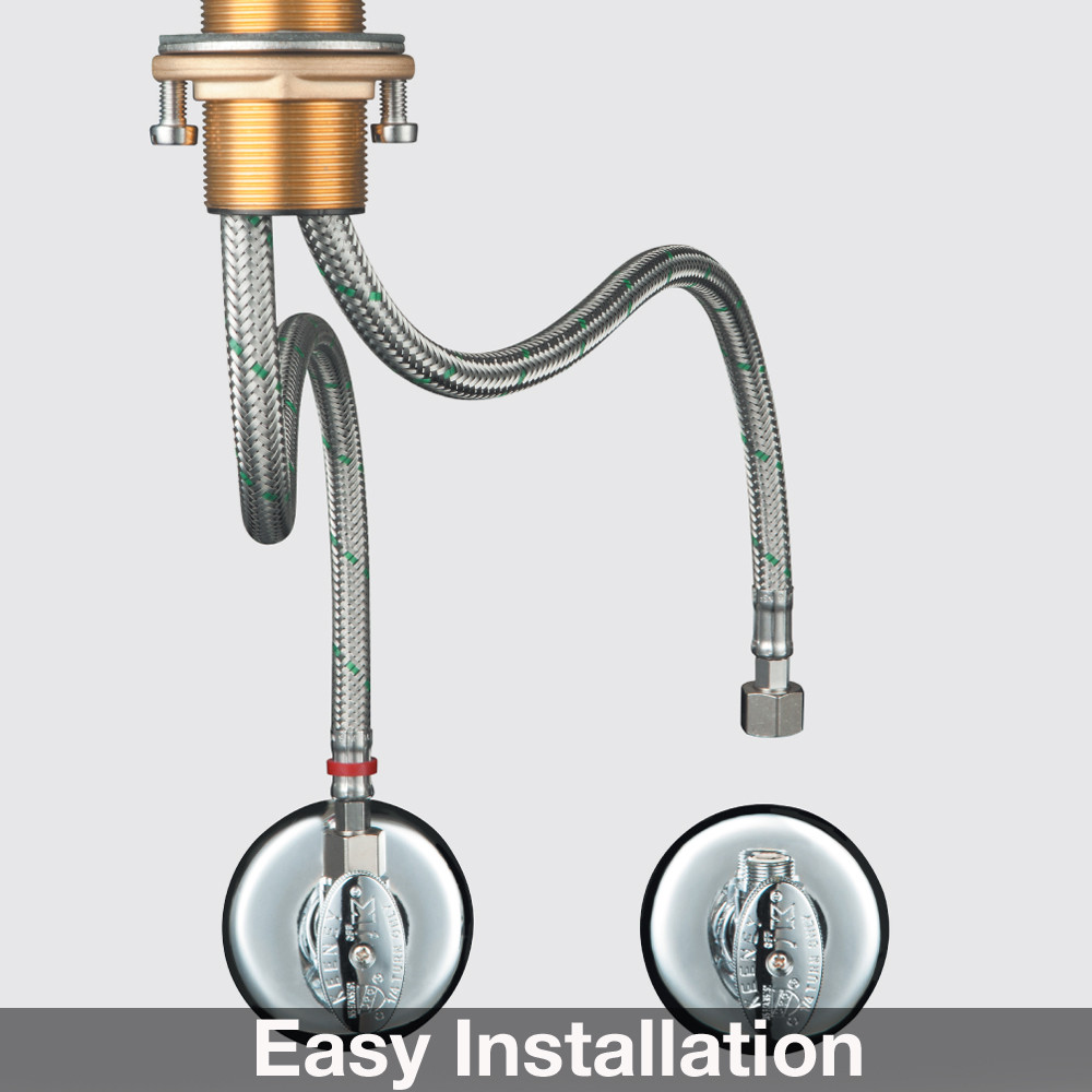 hansgrohe steel optik axor citterio pull down kitchen faucet hansgrohe kitchen faucets Hansgrohe Steel Optik Axor Citterio Pull Down Kitchen Faucet with High Arc Spout Magnetic Docking Toggle Spray Diverter