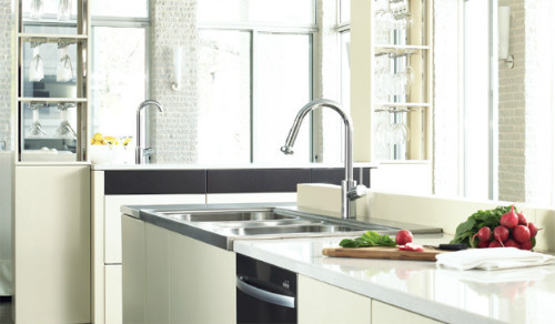 Bath4All - Hansgrohe 14877001 Chrome Talis S Pull-Down Kitchen ...