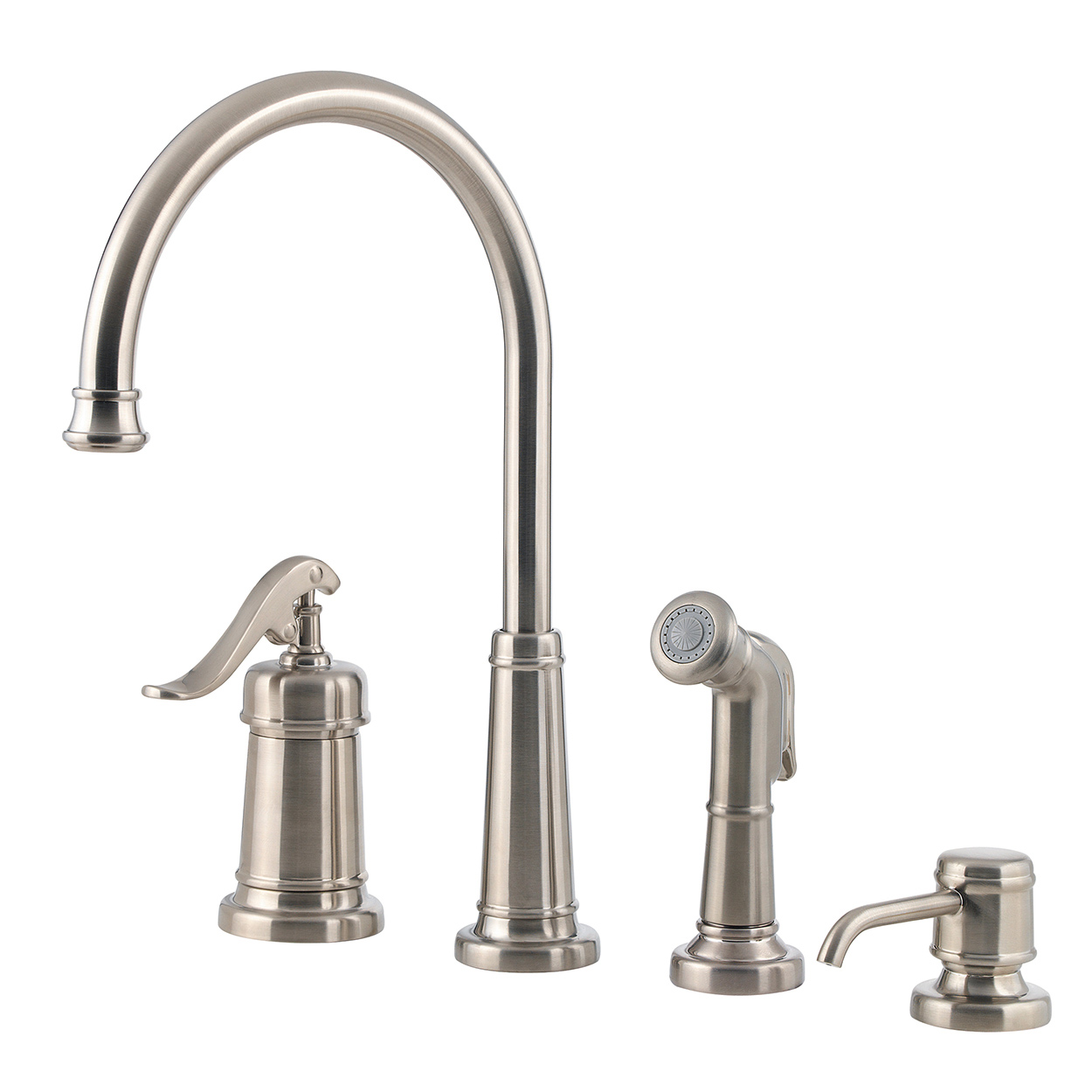 Bath4All - Pfister GT264YPY Ashfield Kitchen Faucet with Flex-Line ...
