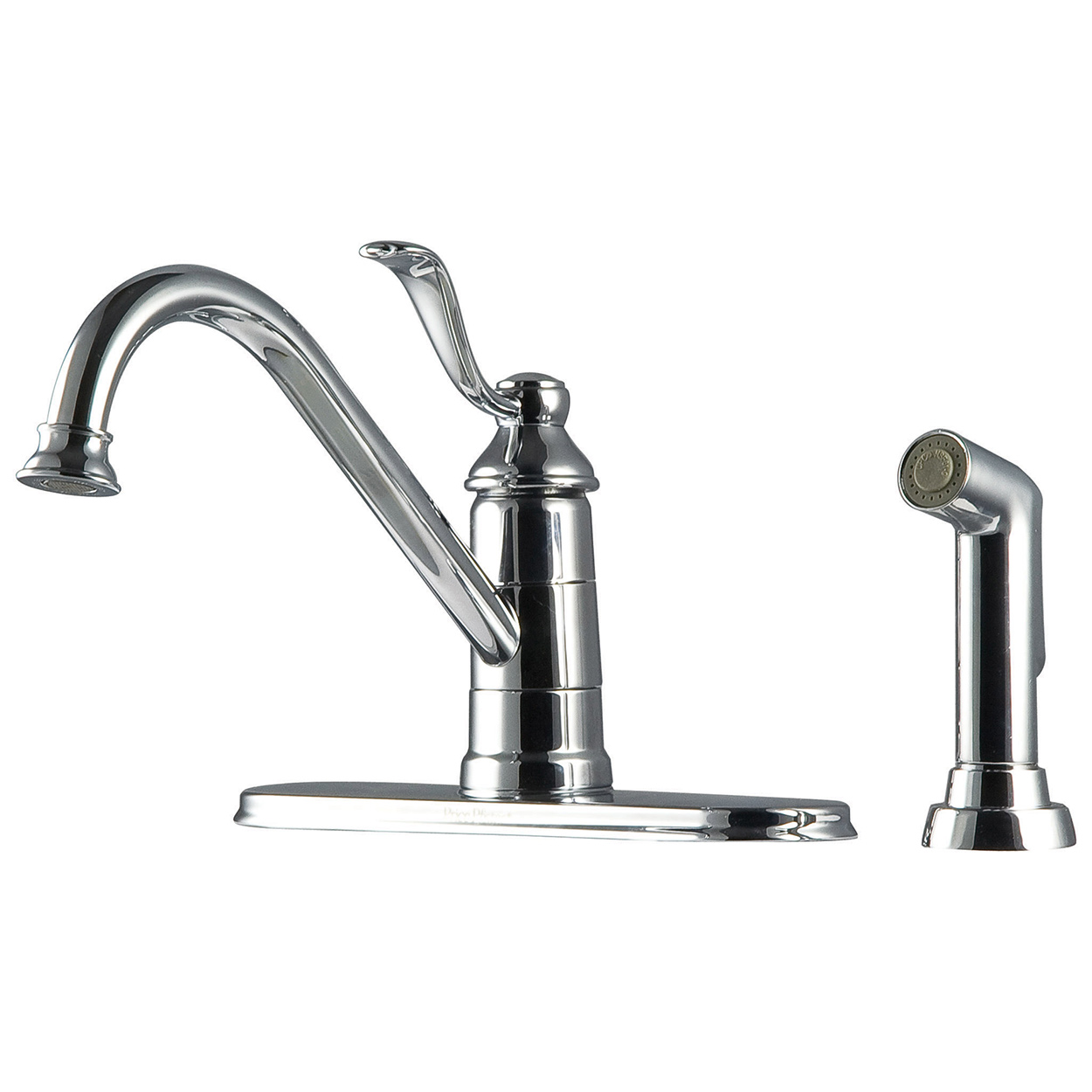 Pfister GT344PC0 Parisa Kitchen Faucet With Flex Line Supply Lines