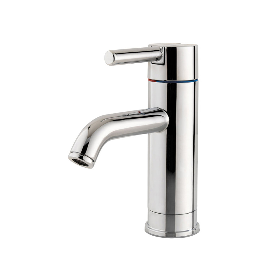 hole faucets faucet single nickel waterfall knox pop bathroom up lavatory brushed with water drain