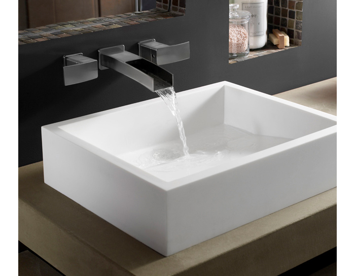 pfister gt49df1b kenzo wall mounted bathroom faucet