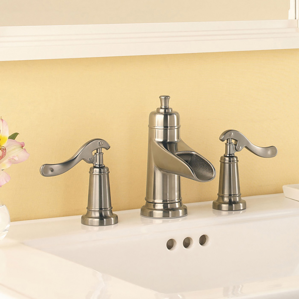 Bath4all pfister gt49yp1c ashfield widespread bathroom faucet with pop up assembly for 4 inch widespread bathroom faucets