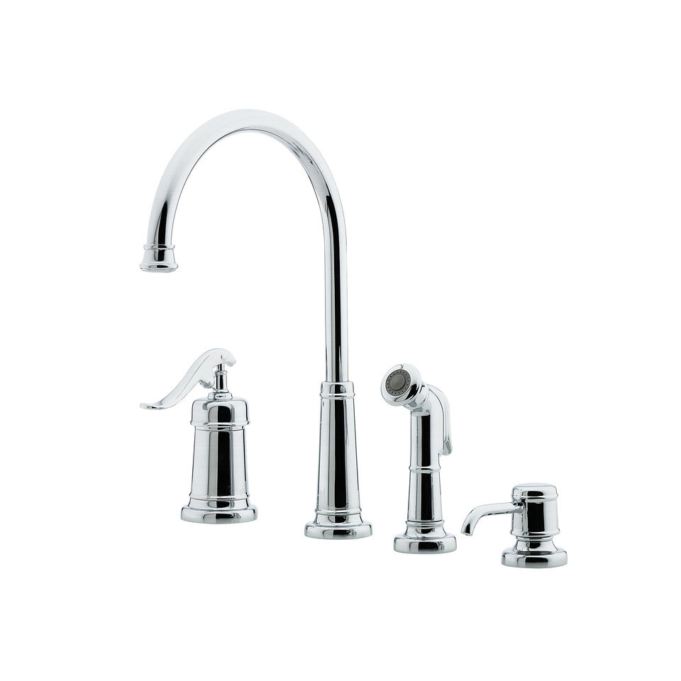 How Is Kitchen Faucet Spout Height Measured