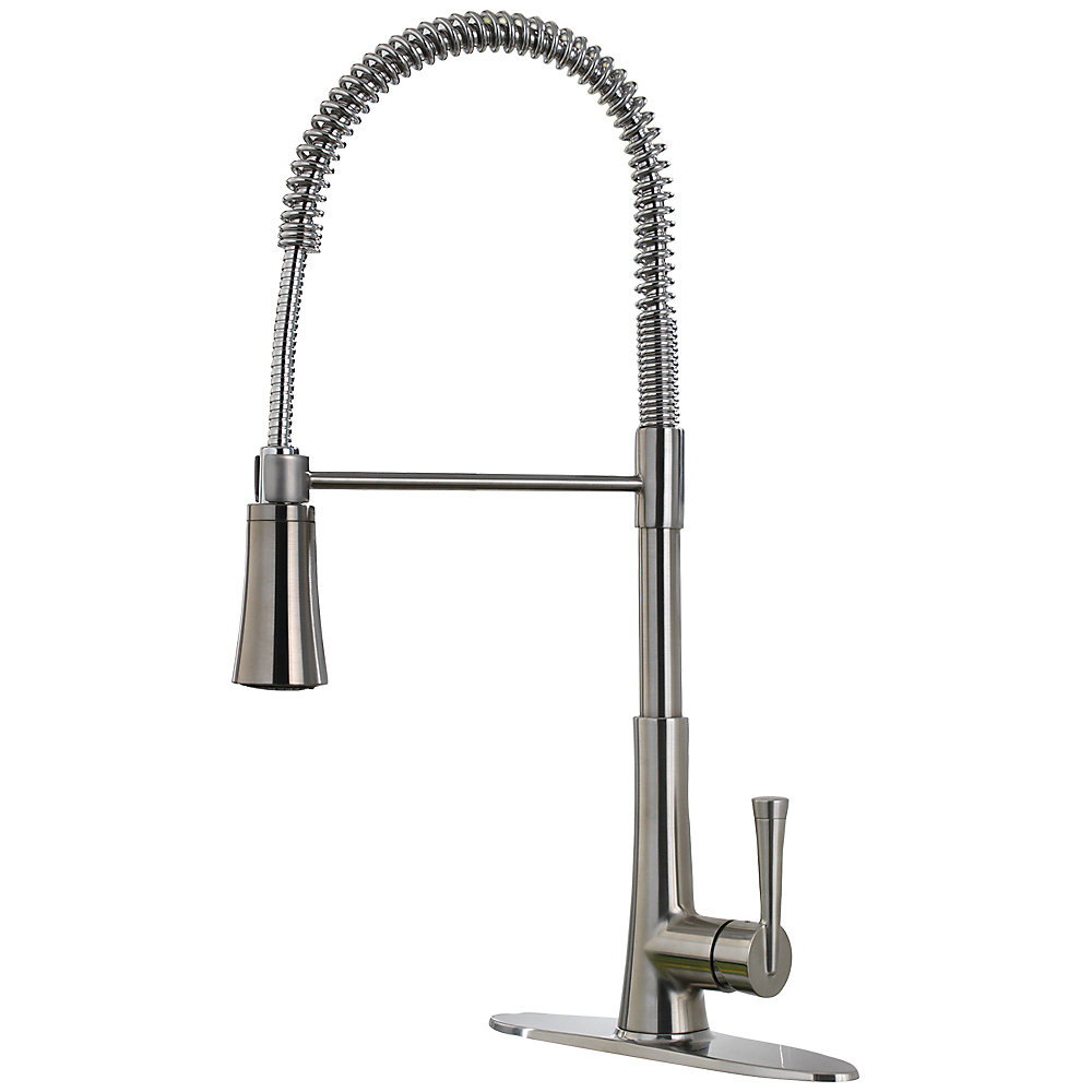 Bath4All - Pfister LG529MCS Stainless Steel Zuri Pullout Spray High ...