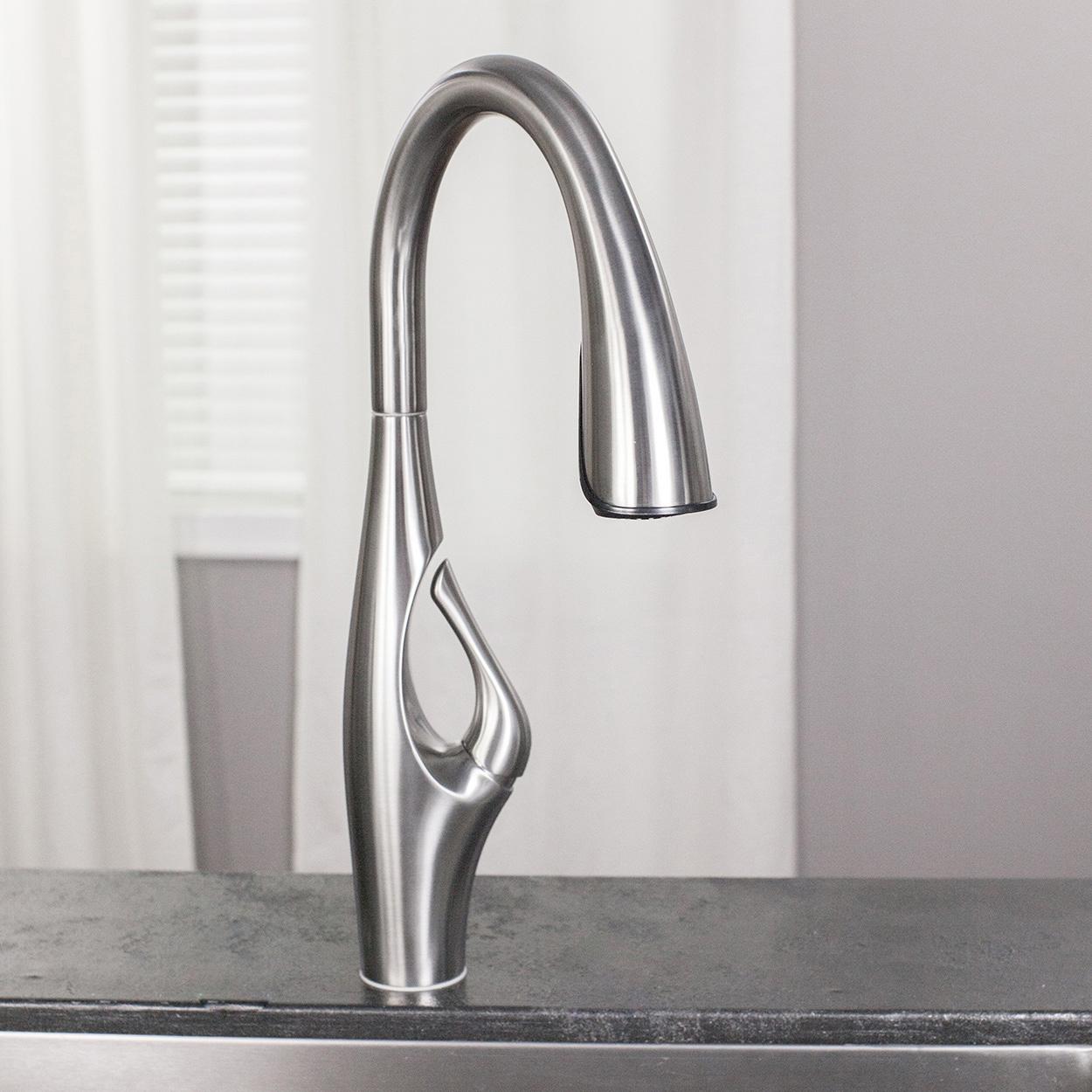 Bath4All - Pfister GT529IHB Kai 1.8 GPM Pull Down Kitchen Faucet