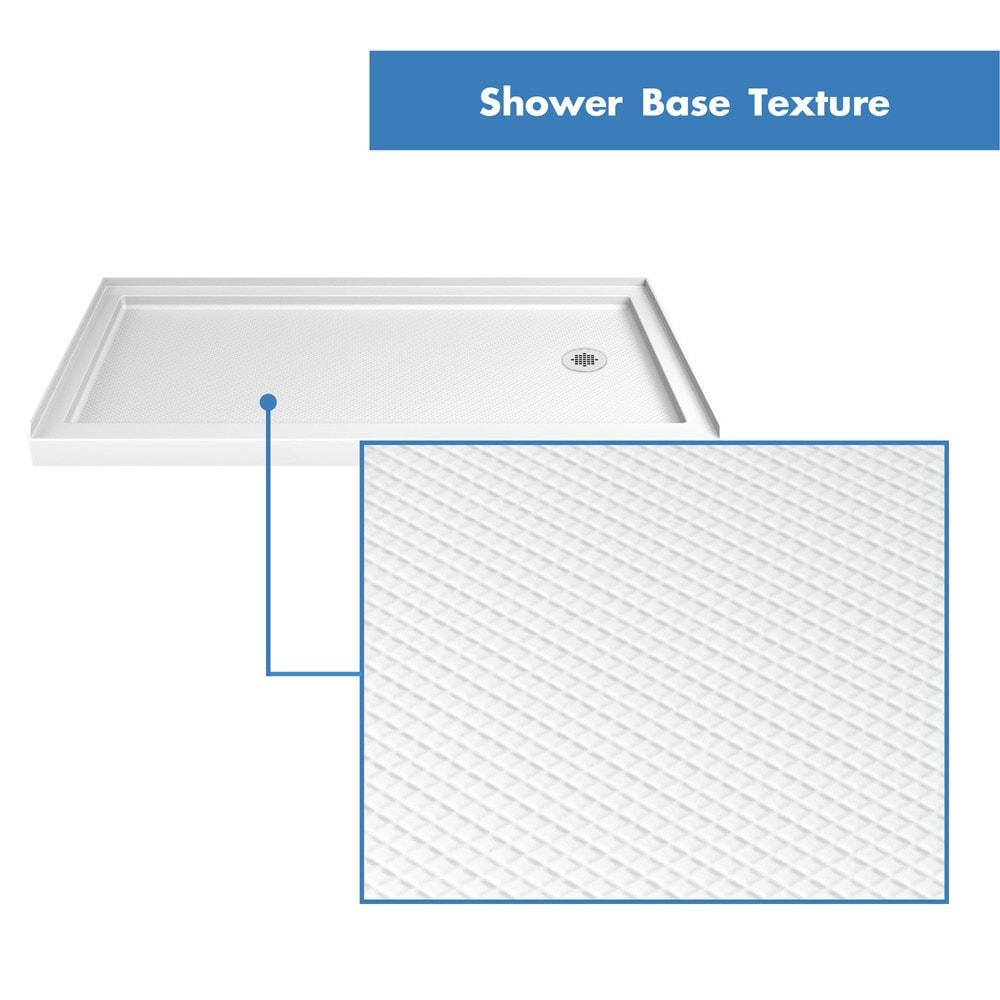 Bath4all Dreamline Dlt 1130602 Slimline 30 X 60 Shower Base Right