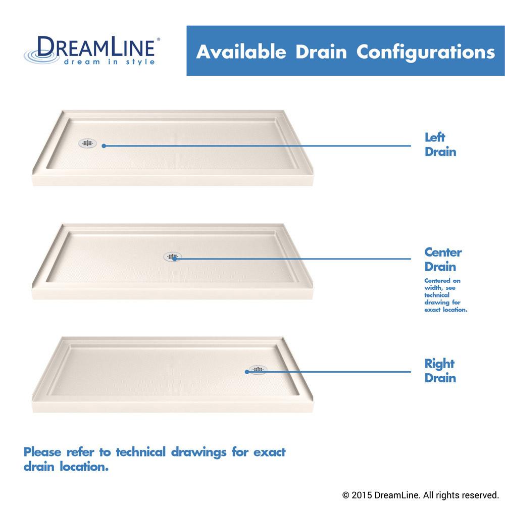 Bath4all Dreamline Dlt 1130602 22 Slimline 30 X 60 Shower Base In
