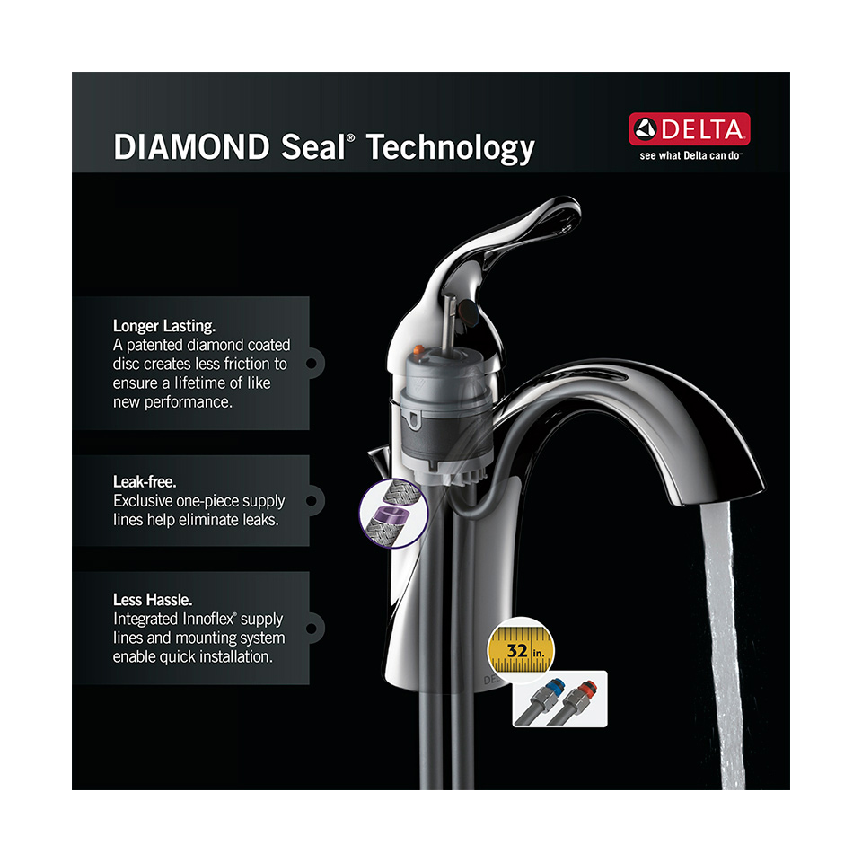 Bath4All - Delta 340-we-dst Collins Kitchen Faucet with Side Spray ...