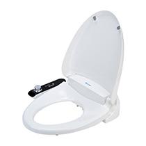 Brondell Swash Ecoseat 100 Bidet Seat for Elongated Toilet, White - Image 1