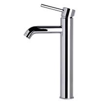 ALFI Brand AB1023 Tall Polished Chrome Single Lever Bathroom Faucet - Image 4