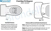 Brondell FreshSpa FS-10 Easy Bidet Attachment - Image 10