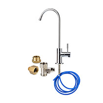 Brondell Coral UC100 Under Counter Water Filter System with a Designer Faucet - Image 2