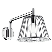 Hansgrohe 26031001 Chrome Axor Nendo 2.5 GPM Rain Shower Head With Quick  Clean Technology   Image ...