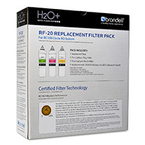 Brondell H2O+ Circle Reverse Osmosis Triple Filter Replacement Pack (RF-20) - Image 3