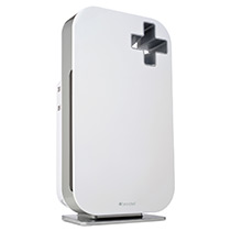 Brondell P300 O2+ Source True HEPA 3-Stage Advanced Air Purifier, White - Image 1