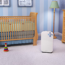Brondell P300 O2+ Source True HEPA 3-Stage Advanced Air Purifier, White - Image 4