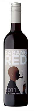 A bottle of Stratus Kabang Red, 2011