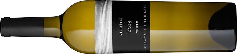 A bottle of Stratus White, 2013