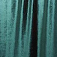 Mesh Teal Crossover Skirt