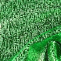 Holographic Lime Mint Long V Glove