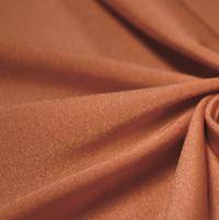 Shiny Lycra Copper Wide Leg Pants