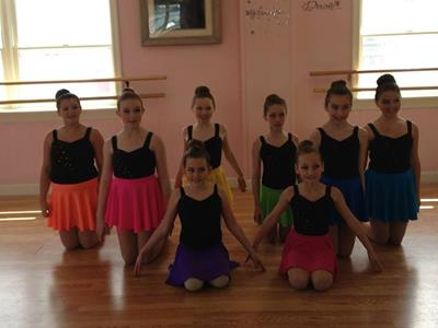 Dance Skirts Multiple Colors