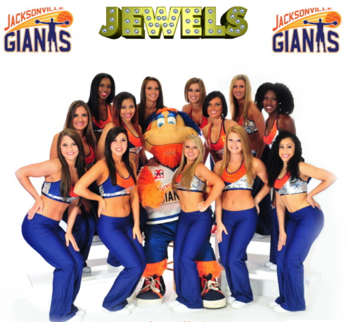 Navy Jazz Pants worn by The Jewels
