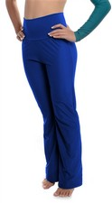 High Waist Dance Pants (Shiny Lycra)