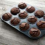 Flourless Brownie Muffins recipe